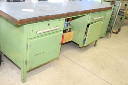 Workbench and 2 Tables