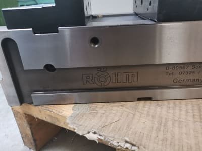 RÖHM RKE-160 Precision Machine Vice