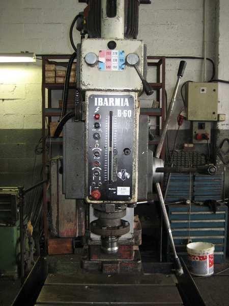 Taladro columna prismatica Ibarmia 1B60