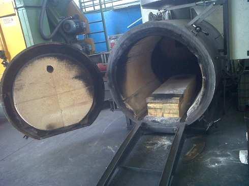 Hornos electricos industriales