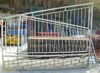 Porta galvanitzada 2 fulles