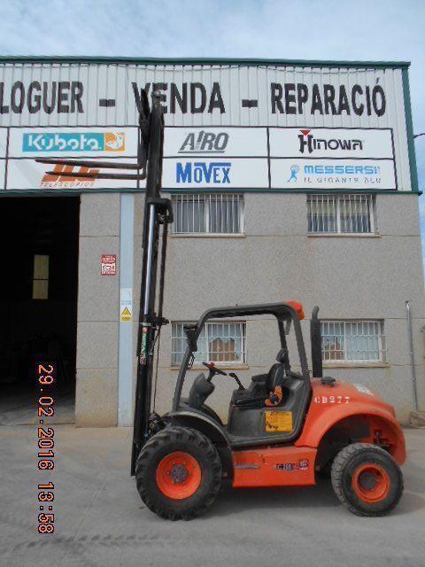 Carretilla elevadora 2000kg C2OOH X 4