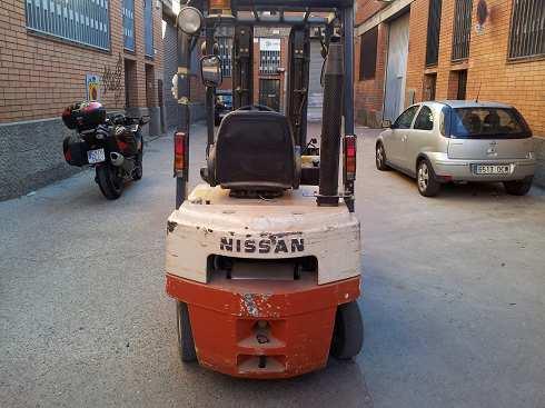 Toro de elevacion Nissan