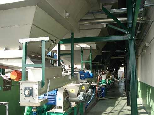 maquinaria para almazaras