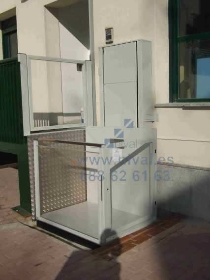 Elevador vertical Gorbea