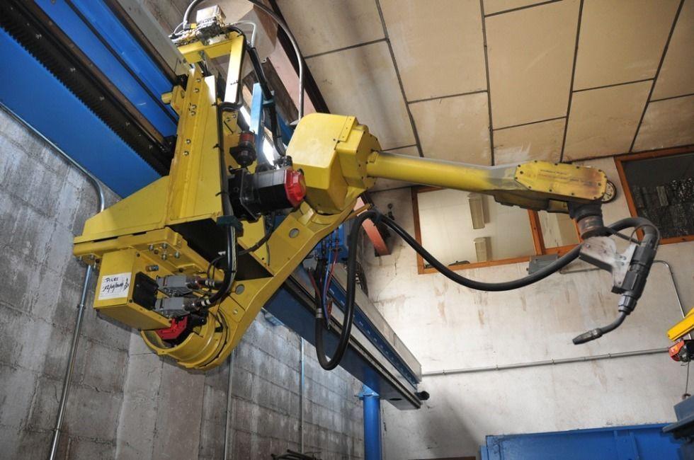 Robot con trac aereo