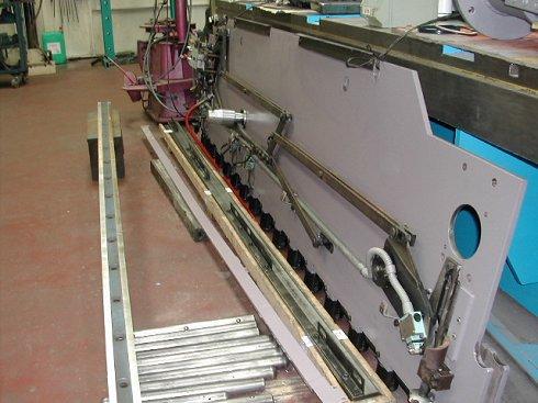 Cizalla hidráulica Mebusa BRG 3000x10/15mm puesta a punto como nueva.