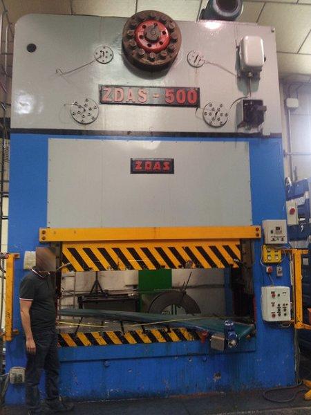 Prensa mecánica Zäss ZDAS-500 de  500t
