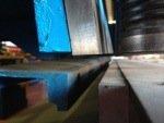 Cizalla hidráulica Ajial 630 de 3.000x6mm puesta a punto como nueva