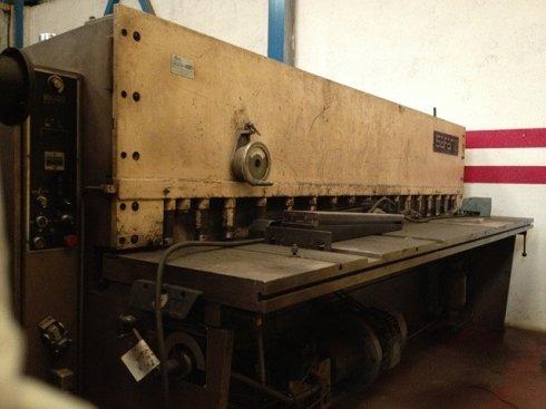 Cizalla hidráulica Safan VS 310/6