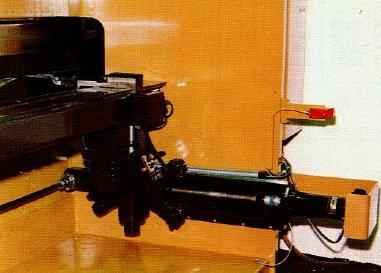 Plegadora electrónica Ajial Beyeler 4000x80t sincronizada a 6 ejes