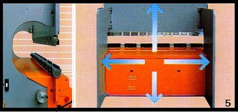 Plegadora hidráulica Mebusa PH-123 de 3.000x120t puesta a punto como nueva