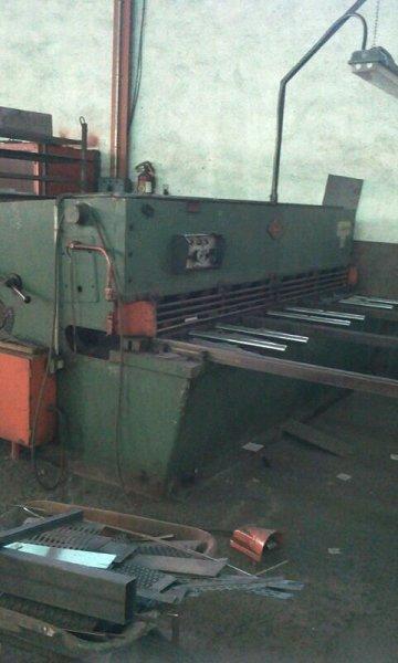 Cizalla hidráulica Ajial de 3.050x10mm