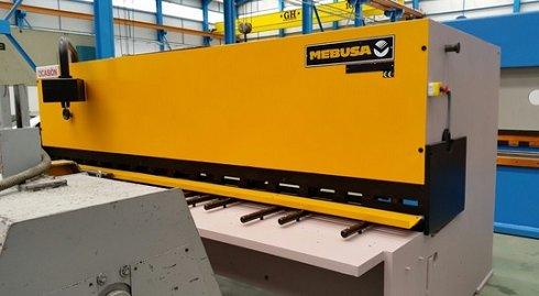 Cizalla hidráulica Mebusa 3100x12mm