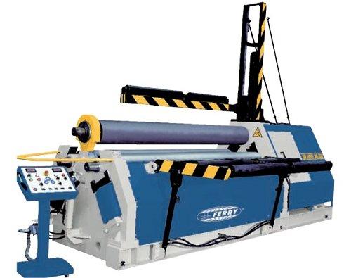 Cilindro hidráulico Ferry de 3.000x20mm de 3 rodillos para calderería pesada