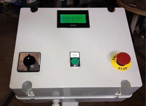 Posicionador a 1 eje para plegadora