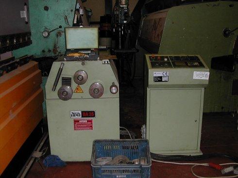 Curvadora de perfiles BPR BA35