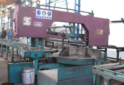 Sierra de cinta semiautomática SABI PBR 450/700