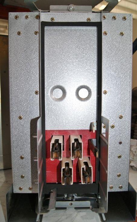 Seccionador o interruptor general. 600V. 125A.