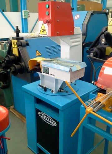 Prensa hidráulica para aluminio CDR PH-5000