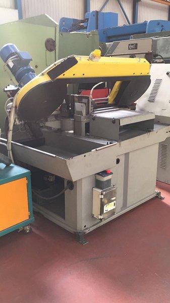 Sierra de cinta semiautomática FMB Pegasus XL + VHZ