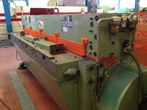 Cizalla mecánica Pasbi CPN de 2000x2mm