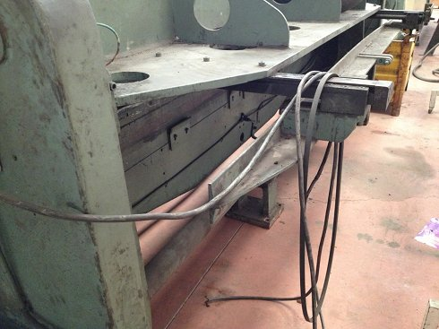 Cizalla mecánica Arrieta de 2.500x4mm