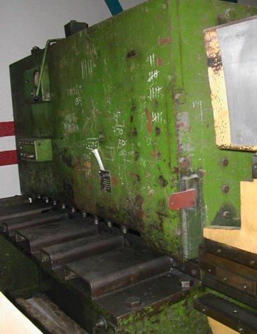 Cizalla hidráulica Fanjul 2.050x10mm