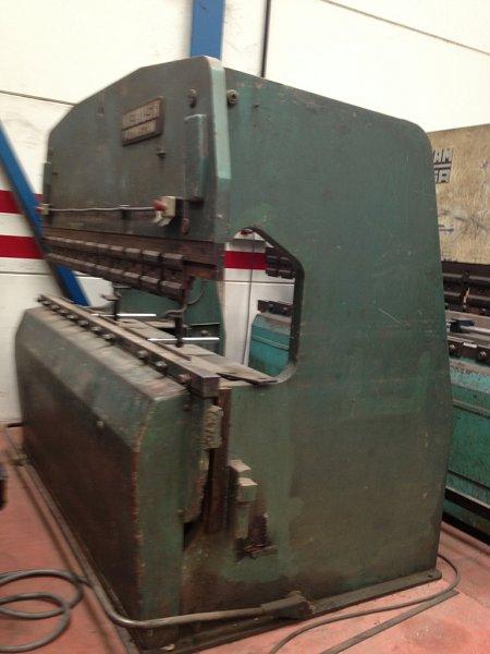 Plegadora hidráulica Mebusa de 2.500x80t