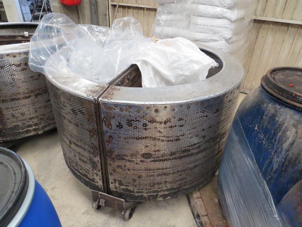 Centrífuga para cestas