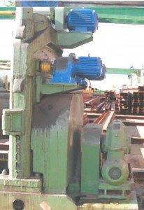 Aplanador de chapa Bronx de 2.000x20/24mm