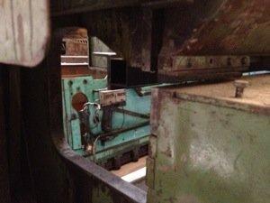 Cizalla mecánica Fischer de 3000x2mm