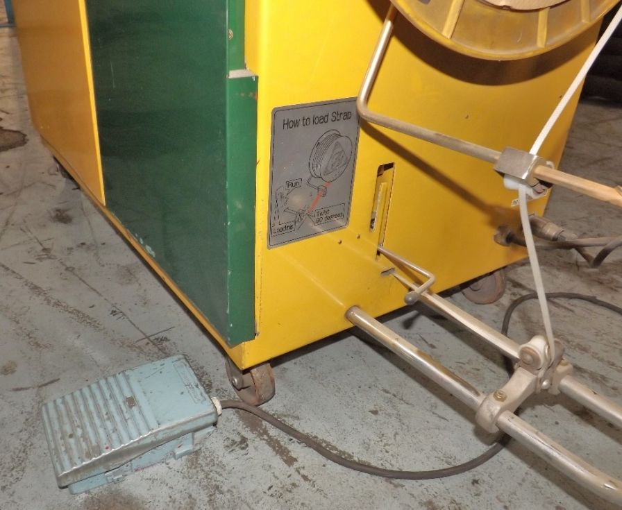 Flejadora automática para periódicos o revistas