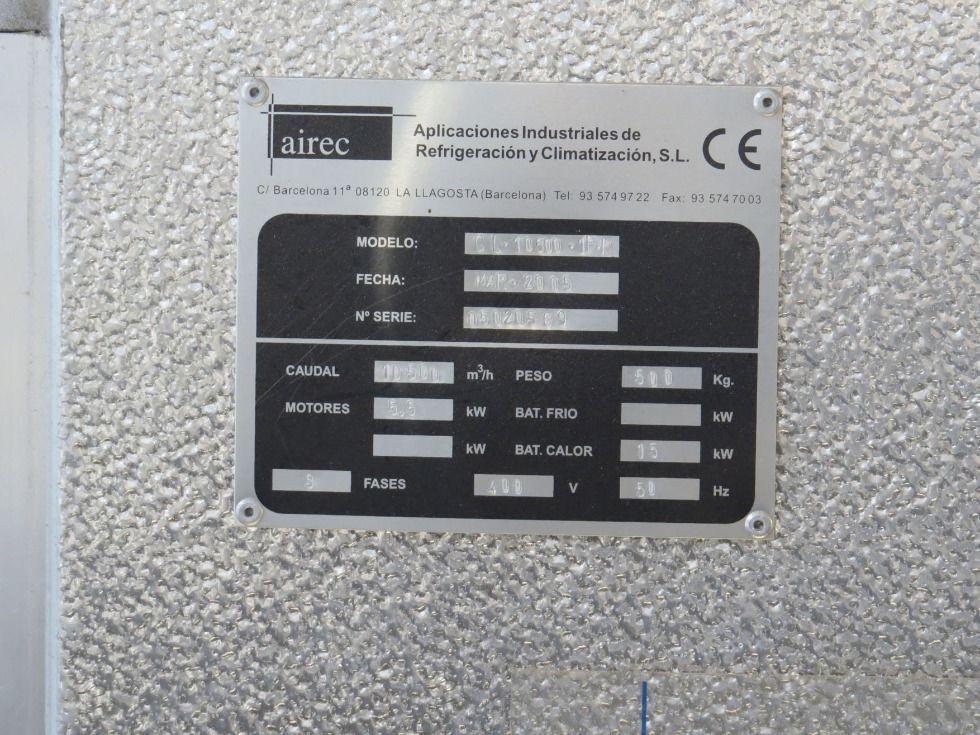 Calefactor de aire caliente