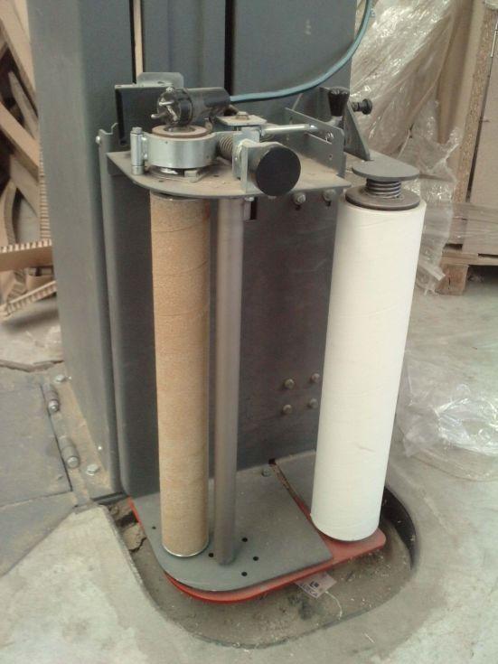 Embaladora retractil vertical film estirable