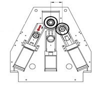 Cilindro Hidráulico de 4 rodillos 4RHS 20-170