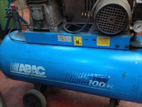 Compresor Abac 3hp 100l