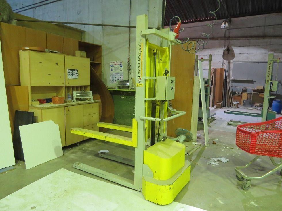 Elevador hidráulico, no autotransportable