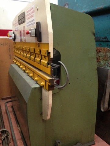 Plegadora hidráulica Mebusa RG 2000-33