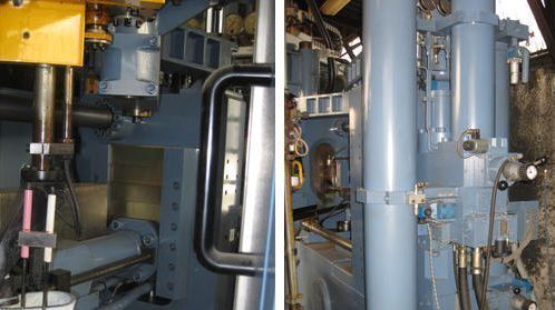 Prensa de inyección Aluminio - zamak