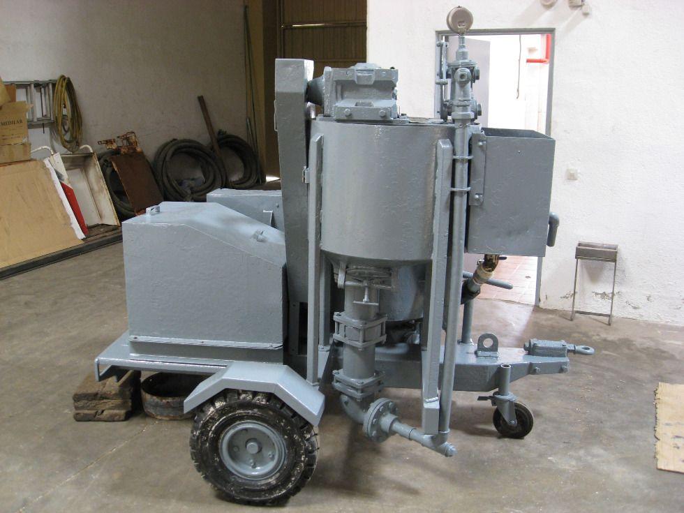 Amasadora-mezcladora de cemento