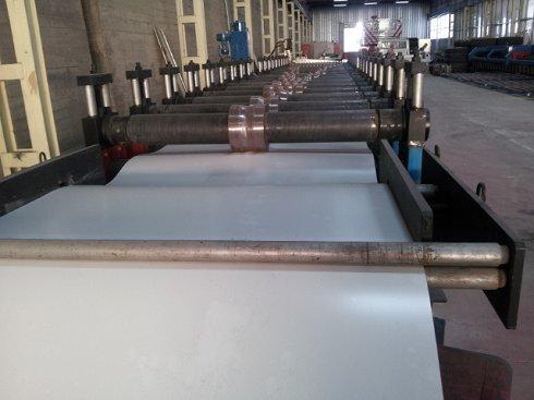 Línea de fabricación de chapa minionda