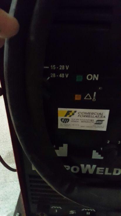 Maquina de soldadura por arco 400 amp