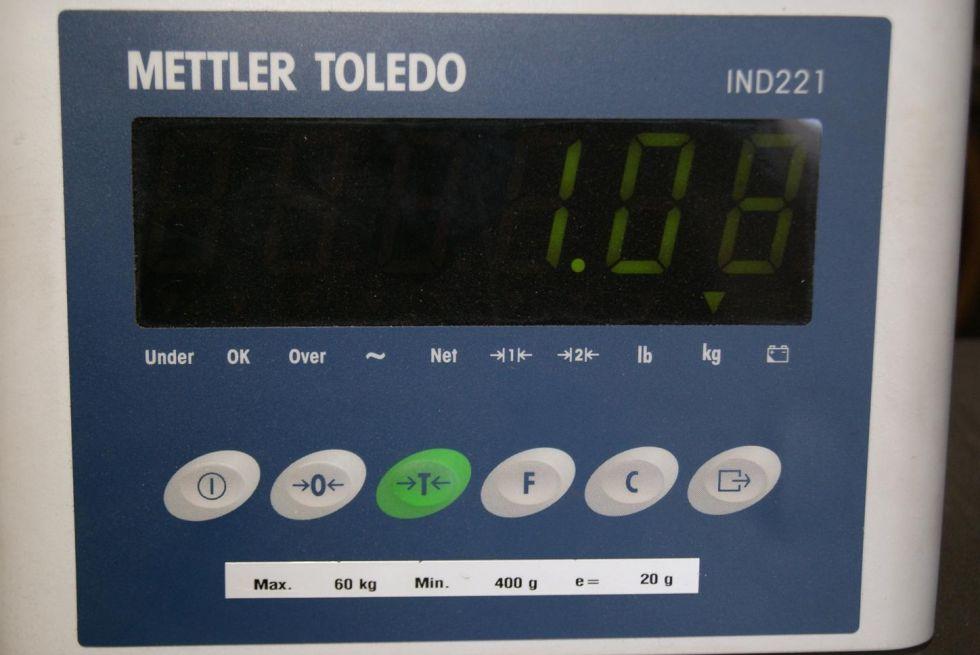 Báscula de plataforma 60 kg