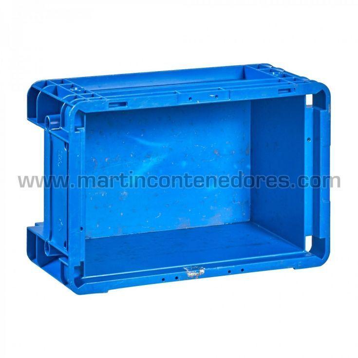 Caja usada con asas integradas