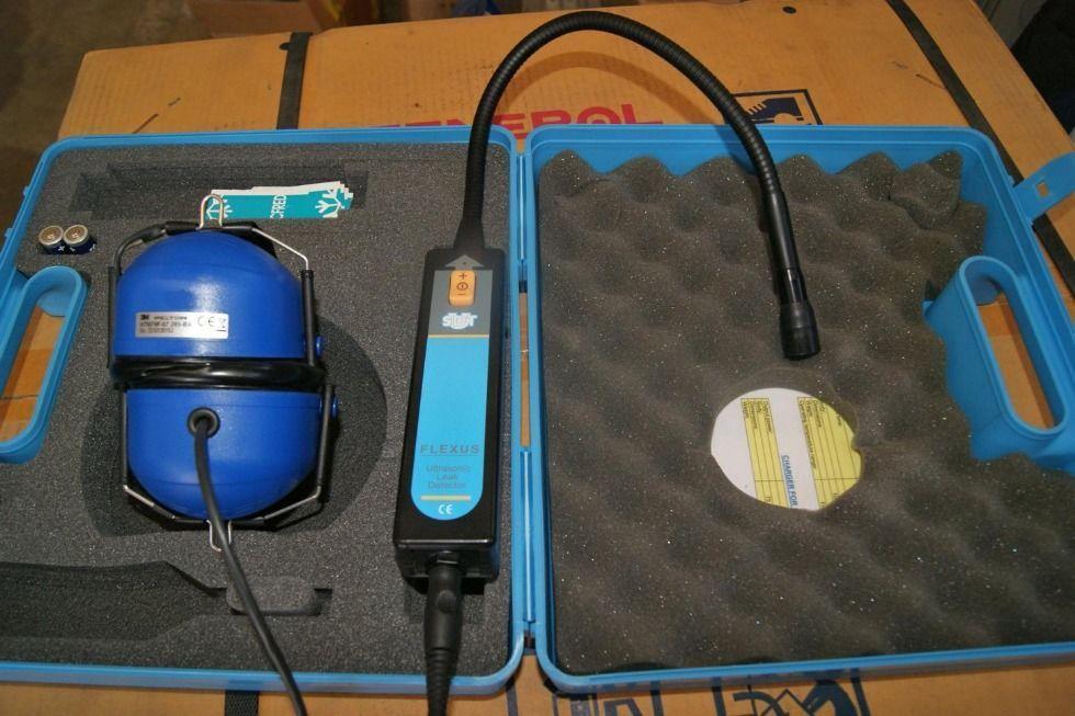 Detector de fugas de aire por ultrasonido