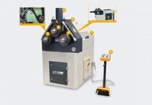 Curvadora de perfiles HPK-60