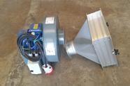 Extractor de aire con filtro