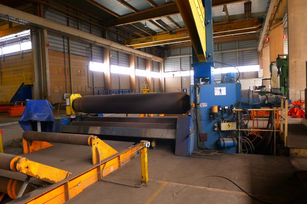 Haeusler VRM HY l 4 roll plate bender