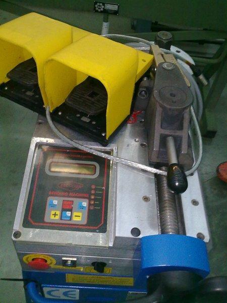 Curvadora de tubos Ercolina Top Bender 050 de segunda mano